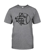 baseball fan shirts Classic T-Shirt tile
