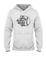baseball fan shirts Hooded Sweatshirt thumbnail