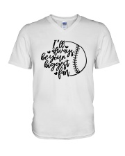 baseball fan shirts V-Neck T-Shirt thumbnail