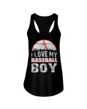 i love my baseball boy Ladies Flowy Tank thumbnail