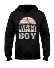 i love my baseball boy Hooded Sweatshirt thumbnail