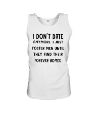 i dont date anymore i just foster men Unisex Tank thumbnail