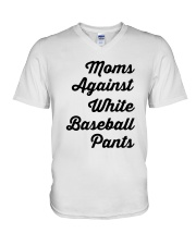 baseball V-Neck T-Shirt thumbnail