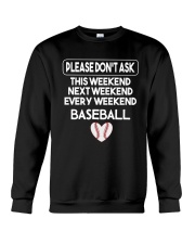 baseball  shirts Crewneck Sweatshirt thumbnail