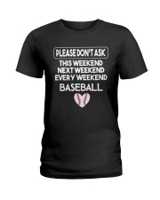baseball  shirts Ladies T-Shirt thumbnail