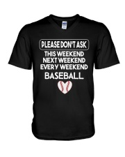 baseball  shirts V-Neck T-Shirt thumbnail