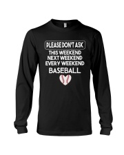 baseball  shirts Long Sleeve Tee thumbnail