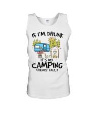 Camping Shirt Unisex Tank thumbnail
