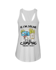 Camping Shirt Ladies Flowy Tank thumbnail