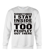 sometimes i stay Crewneck Sweatshirt thumbnail