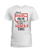 baseball Ladies T-Shirt thumbnail