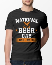 National beer day Classic T-Shirt lifestyle-mens-crewneck-front-13
