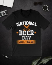 National beer day Classic T-Shirt lifestyle-mens-crewneck-front-16