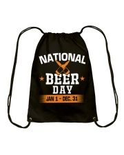 National beer day Drawstring Bag thumbnail