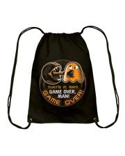 GAME OVER MAN GAME OVER Drawstring Bag thumbnail