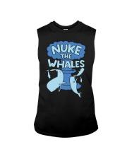 Nuke the whales Sleeveless Tee thumbnail