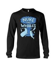 Nuke the whales Long Sleeve Tee thumbnail