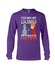 FEELINGS ARE DUMBED Long Sleeve Tee tile