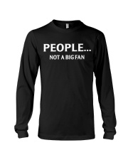 People not a big fan Long Sleeve Tee thumbnail