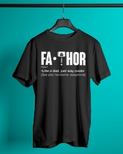 FOR DAD Classic T-Shirt lifestyle-mens-crewneck-front-3