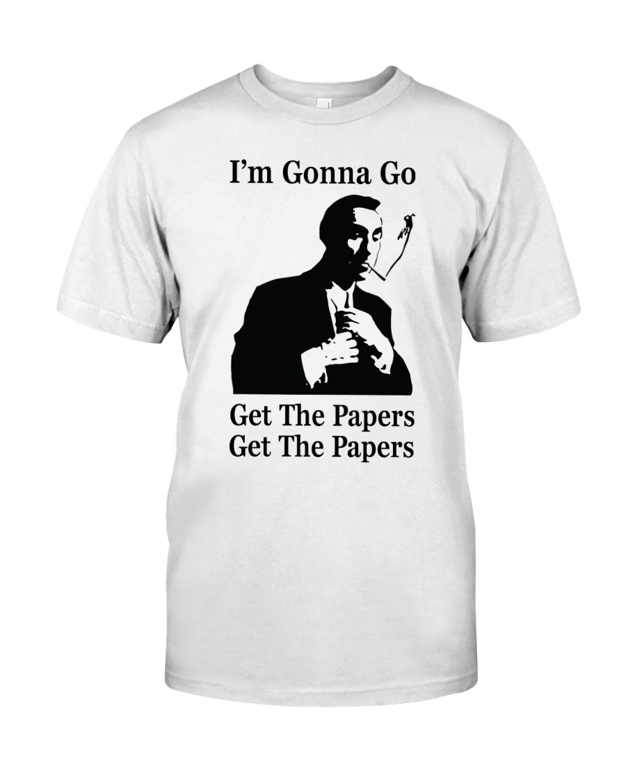 Get the papers Classic T-Shirt