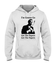 Get the papers Hooded Sweatshirt thumbnail