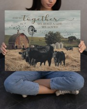 Farm And So Together They Built A Life 20x16 Gallery Wrapped Canvas Prints aos-canvas-pgw-20x16-lifestyle-front-22