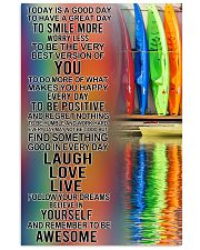 Kayaking Today Is A Good Day 11x17 Poster front