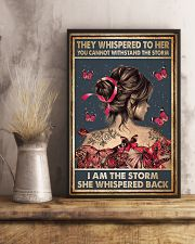 Tattoo They Whispered To Her 11x17 Poster lifestyle-poster-3
