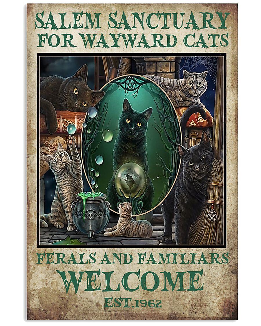 Cat Salem Sanctuary For Wayward Cats Ferals 16x24 Poster