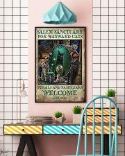 Cat Salem Sanctuary For Wayward Cats Ferals 16x24 Poster lifestyle-poster-6