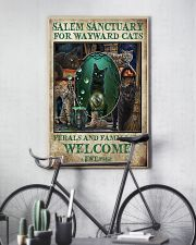 Cat Salem Sanctuary For Wayward Cats Ferals 16x24 Poster lifestyle-poster-7