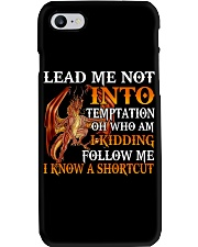 Dragon Lead Me Not Into Phone Case tile