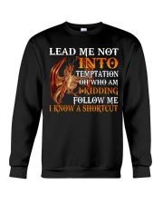 Dragon Lead Me Not Into Crewneck Sweatshirt tile