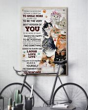 Cat Today Is A Good Day 16x24 Poster lifestyle-poster-7