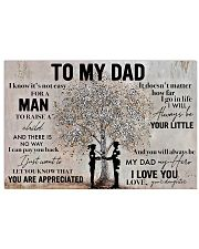 Father To My Dad Poster 17x11 Poster front