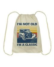 Hot Rod Classic Drawstring Bag tile