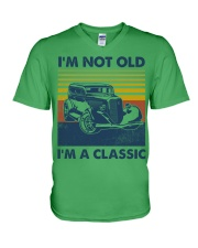 Hot Rod Classic V-Neck T-Shirt tile