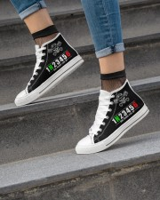 Mortorcycle 1 N 2 3 4 5 6 Women's High Top White Shoes aos-complex-women-white-top-shoes-lifestyle-04