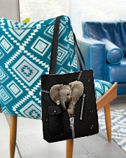 Elephant Zipper All-over Tote aos-all-over-tote-lifestyle-front-01