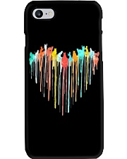 Cat Colorful Heart Phone Case tile
