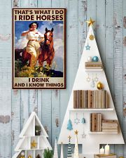 Horse That Is What I Do Poster 11x17 Poster lifestyle-holiday-poster-2