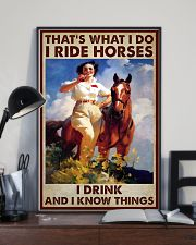 Horse That Is What I Do Poster 11x17 Poster lifestyle-poster-2