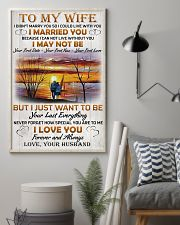 Family To My Wife I Didn't Marry You 11x17 Poster lifestyle-poster-1