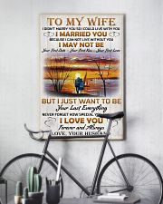 Family To My Wife I Didn't Marry You 11x17 Poster lifestyle-poster-7