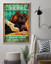 Cat Thats What I Do 16x24 Poster lifestyle-poster-1