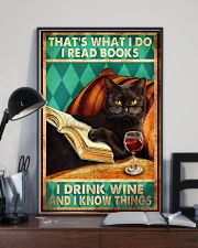 Cat Thats What I Do 16x24 Poster lifestyle-poster-2