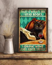 Cat Thats What I Do 16x24 Poster lifestyle-poster-3