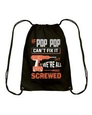 Pop Pop If Can't Fix Drawstring Bag tile
