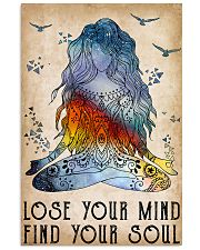 Yoga Lose Your Mind Find Your Soul 11x17 Poster front